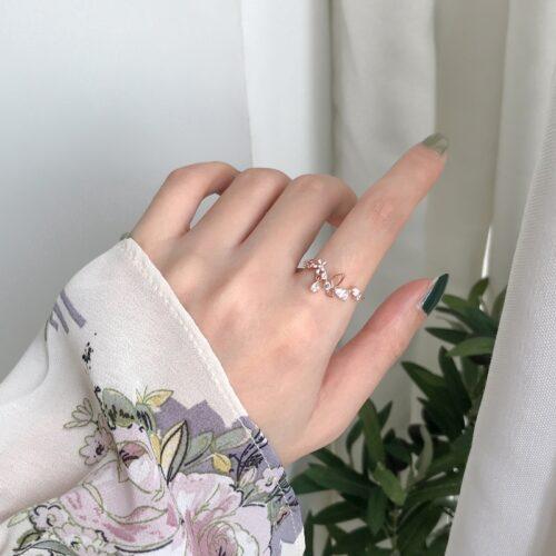 แหวนสำหรับนิ้วเรียวยาว